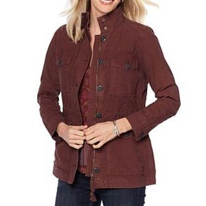 Lucky Brand Brown Utility Jacket Size Small